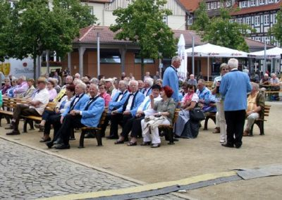 Beim Rathausfest
